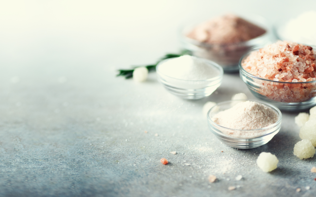 Salz und gesundes Leben
